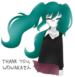 [Fanart] Thank You Wowaka by lily54541