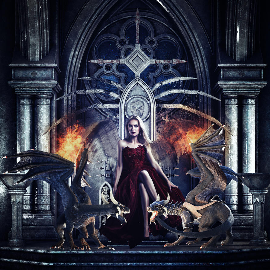 Queen of Dragons by darkcherrydesign