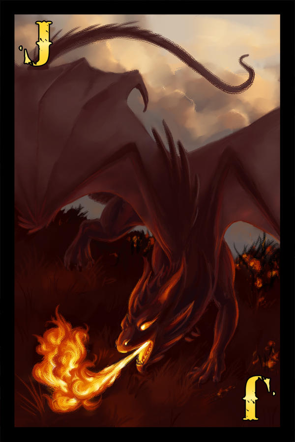 Dragon Cards- Fire Jack