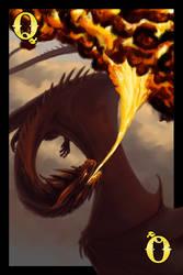 Dragon Cards- Fire Queen