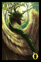 Dragon Cards- Nature Queen