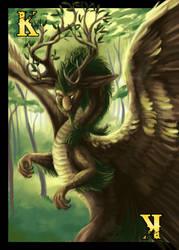 Dragon Cards- Nature King