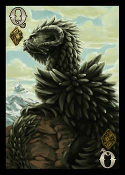 Dragon Cards- Land Queen