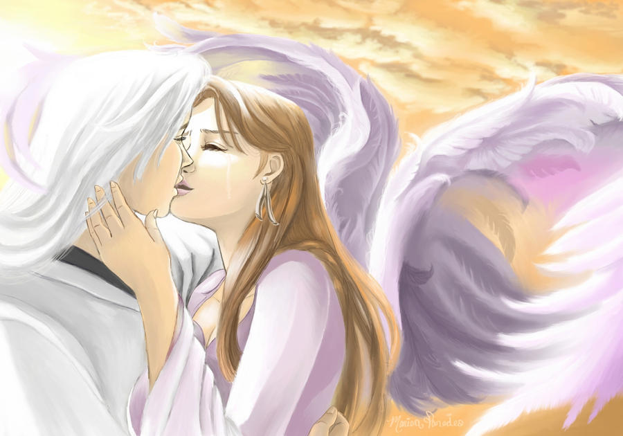 Jushiro and His Angel by aeris-ucchan