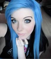 ira vampira blue hair blue eyes by IraVampira88