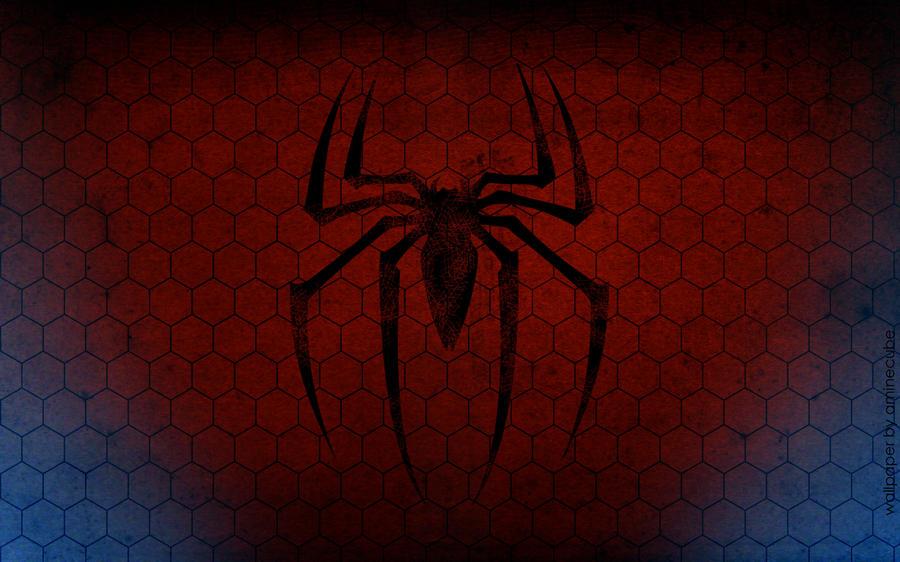 Spiderman Logo Wallpaper By Aminecube On Deviantart