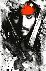 Jack SPARROW by aminecube