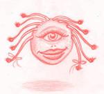 Girly Beholder pink