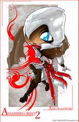 Assassines Creed 2 - Ezio by RedViolett