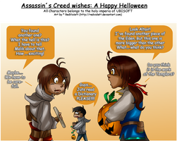 AC wishes a Happy Helloween by RedViolett