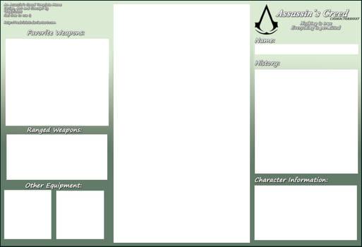 AC - Original Character Sheet