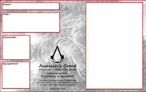 AC - Original Character Sheet by RedViolett