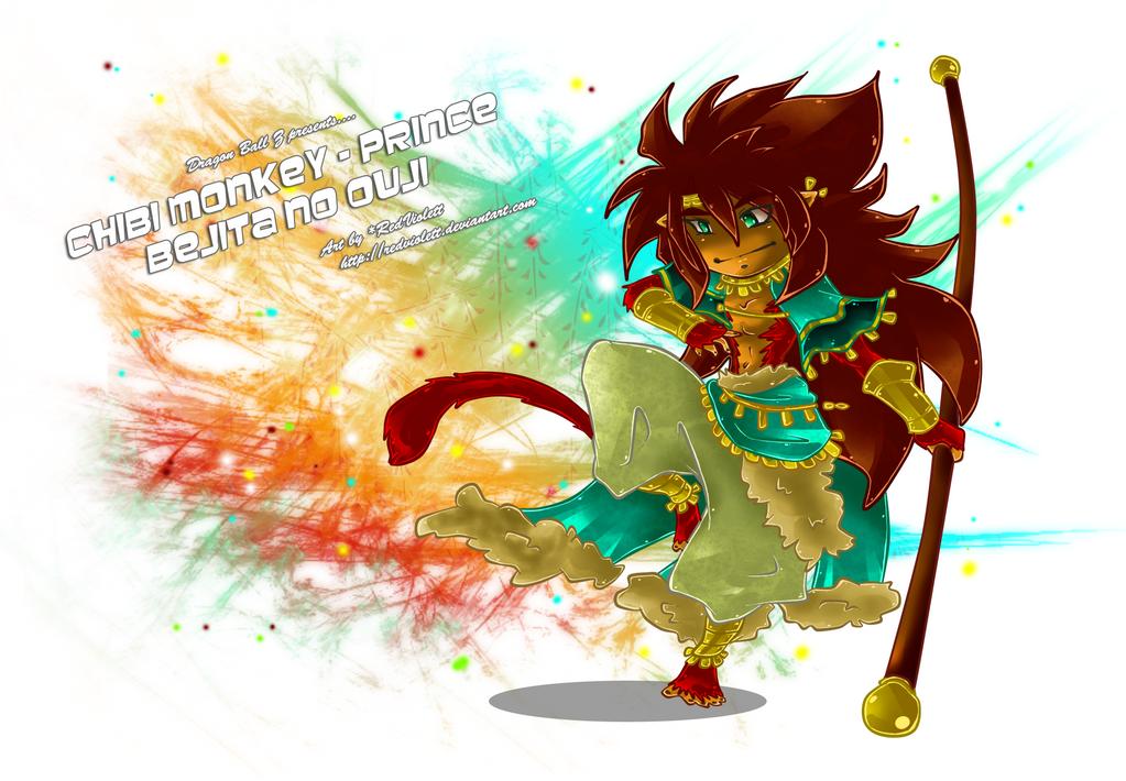 D.B.Z. - Chibi Prince Bejita no Ouji by RedViolett