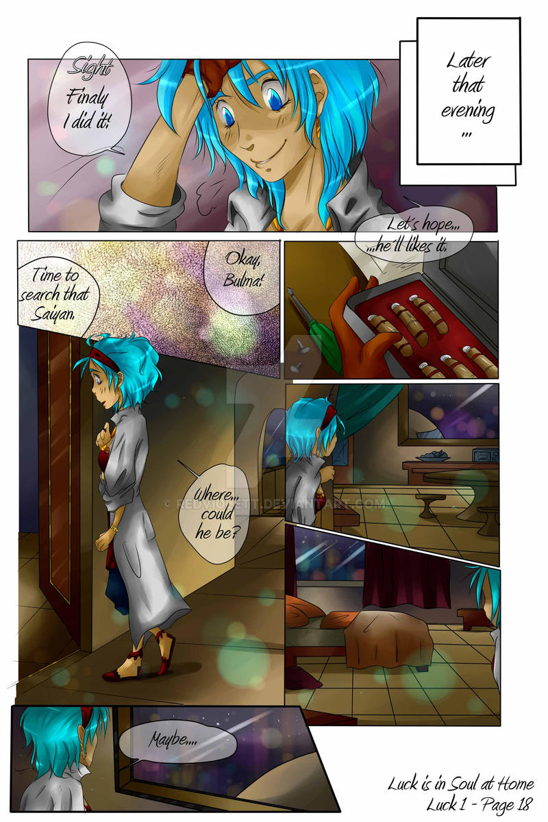 DBZ - Luck is in Soul at home - Luck 1 Page 18 by RedViolett