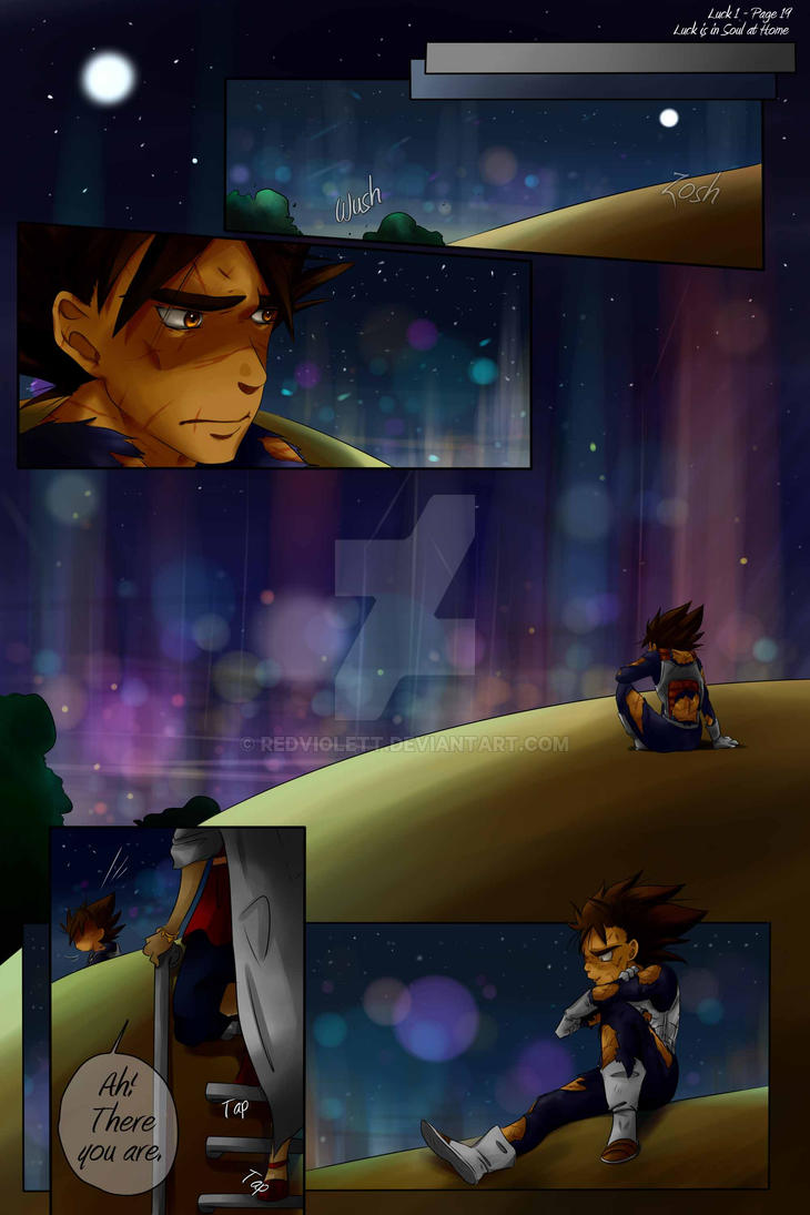 DBZ - Luck is in Soul at home - Luck 1 Page 19 by RedViolett
