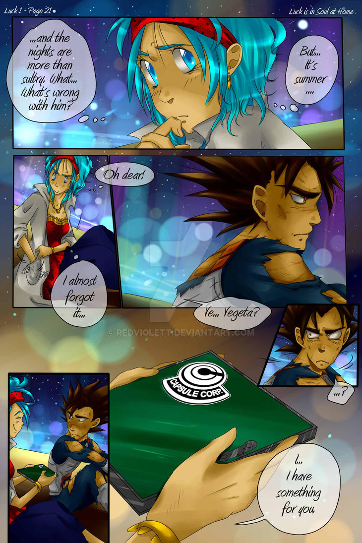 DBZ - Luck is in Soul at home - Luck 1 Page 21 by RedViolett