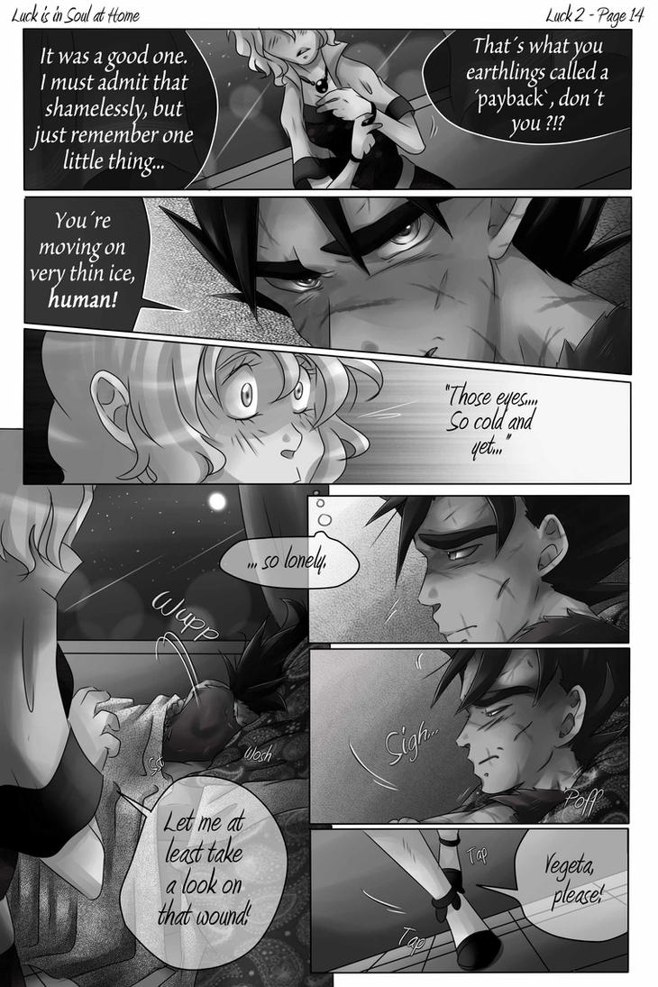DBZ - Luck is in Soul at Home - Luck 2 Page 14 by RedViolett