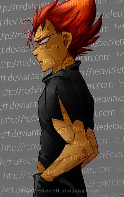 DBZ - Redhead by RedViolett