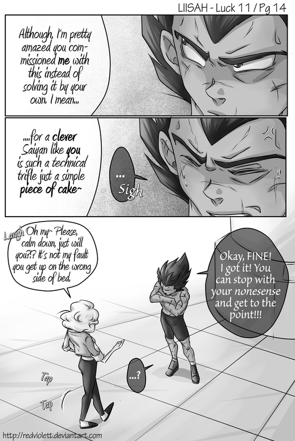 DBZ - Luck is in Soul at Home - Luck 11 Page 14 by RedViolett