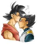 Dragon Ball Super - KakaVege - Forehead Kiss