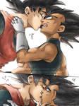 Dragon Ball Z - KakaVege -Fluff 1-