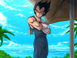 DBS Boly Movie Fanart 1