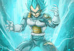 DBS - Super Saiyan Blue Vegeta