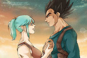 DBZ - Vegebul Crossover: Uncharted by RedViolett