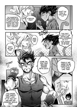 DBZ - Grown up under Ruins: Chapter 6 Page 17