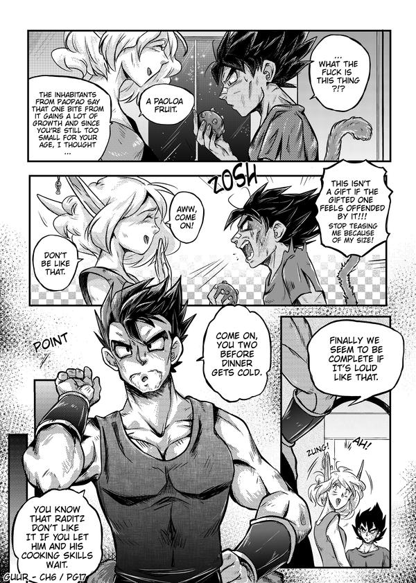 DBZ - Grown up under Ruins: Chapter 6 Page 17 by RedViolett