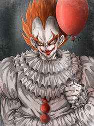 DBZ Crossover Halloween - We all float down here