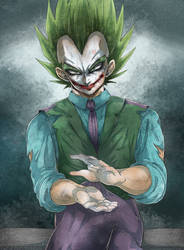 DBZ - Halloween Crossover - The Joker