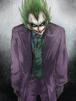 DBZ - Halloween Crossover 2: The Joker