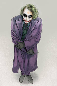 The Dark Knight - Heath Ledger - Joker