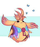 Riki the Heropon Xenoblade Chronicles Scribble by Naimly