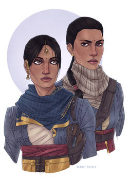 Lakshmi and Devi from The Order 1886