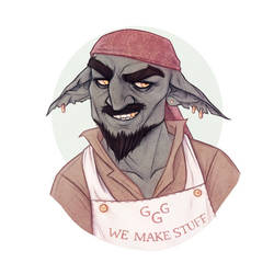 Gnoblin - Half Goblin Half Gnome - DnD by Naimly