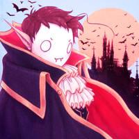 Spooky Halloween Vampire - Cryaotic by Naimly
