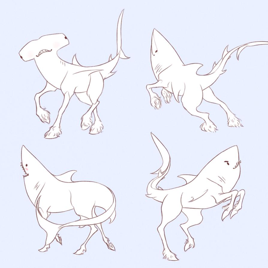 Shkorses ( Shark Horses ) by Naimly