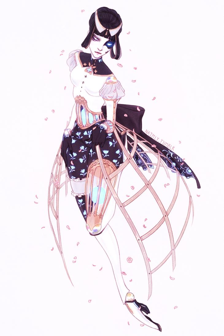 Azami Xenoblade Chronicles 2 by Naimly