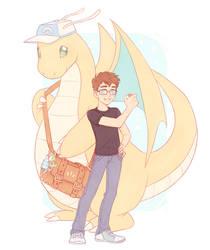 Pokesona Pokemon Trainer for Brendan! by Naimly