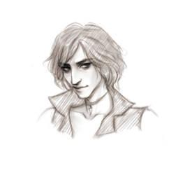 V Devil May Cry 5 Sketch by Naimly