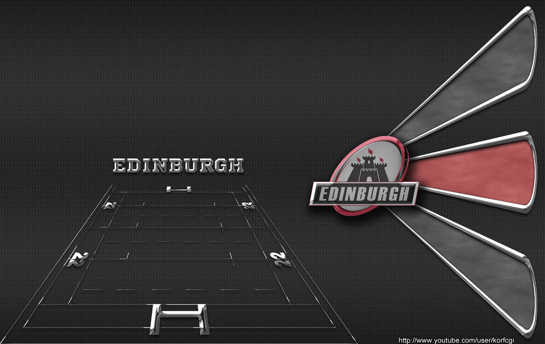 Edinburgh Rugby Wallpaper By Korfcgi On Deviantart
