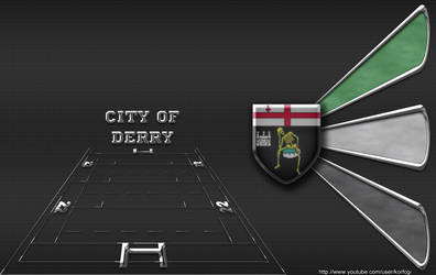 City of Derry rugby wallpaper by KorfCGI