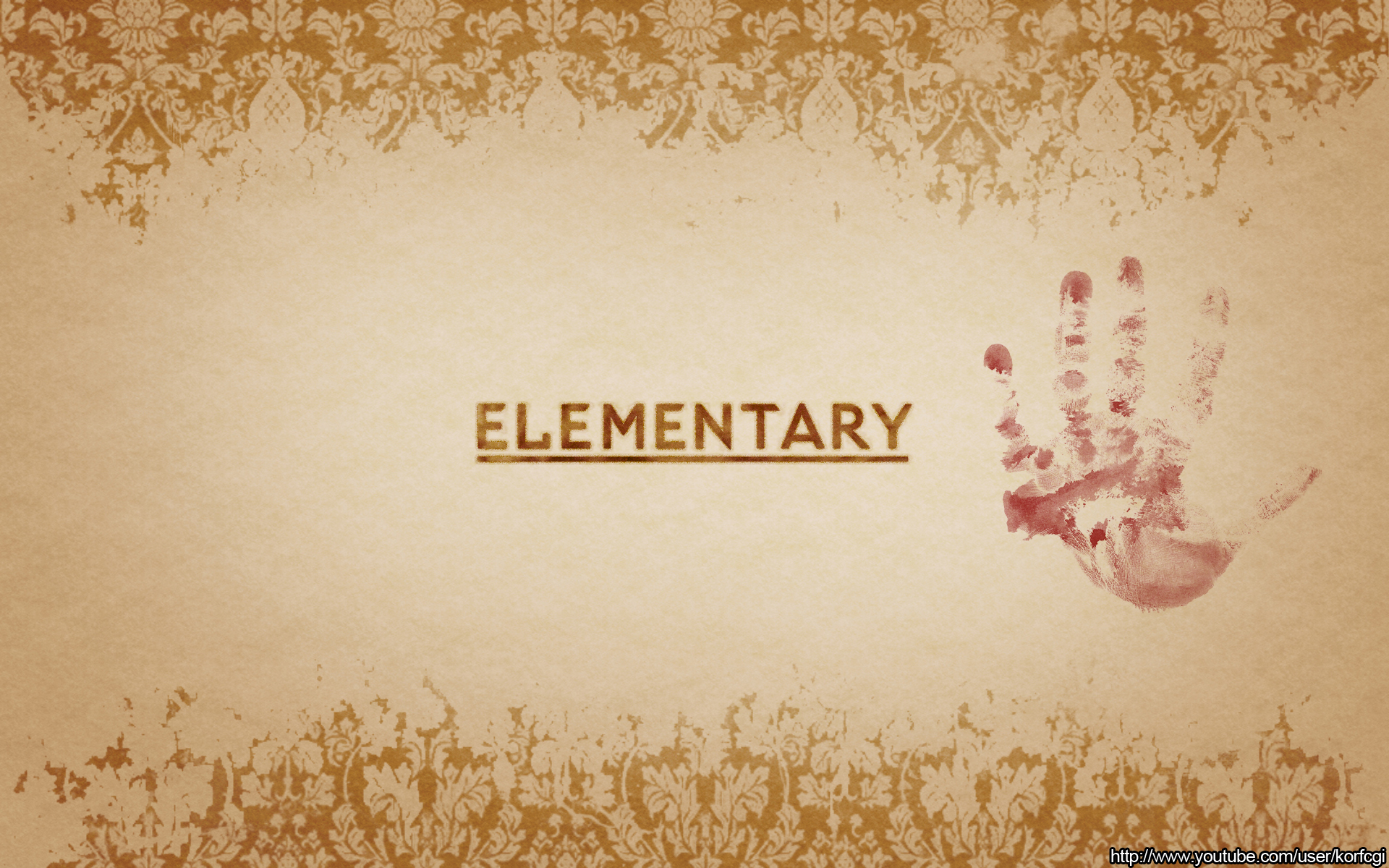 Elementary wallpaper by KorfCGI