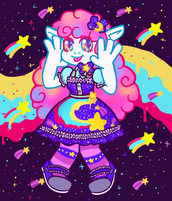star beams rainbow dreams by lazy-spoon