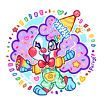 poodle pup popple's party pop stickers!