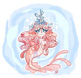 (open OTA!) butterfly shrimp mermaid by MightbeBianca