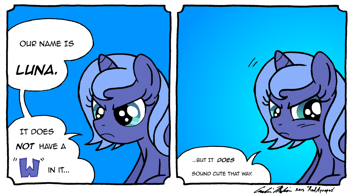 Woona Takes Issue by RedApropos