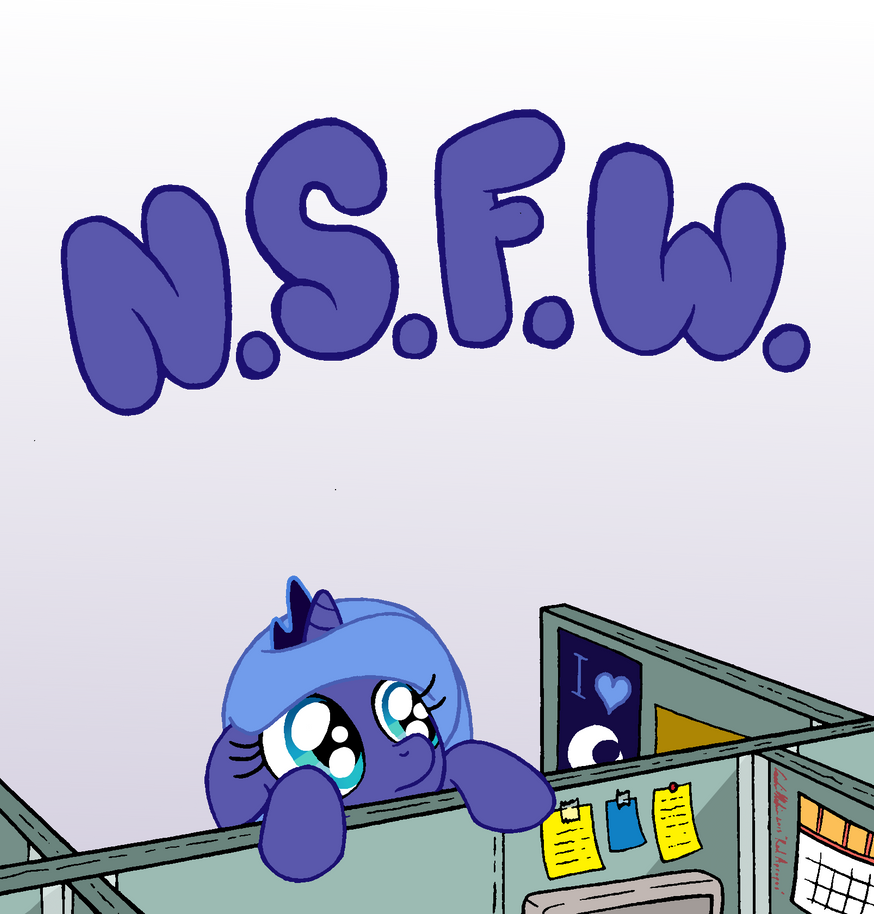N.S.F.W by RedApropos